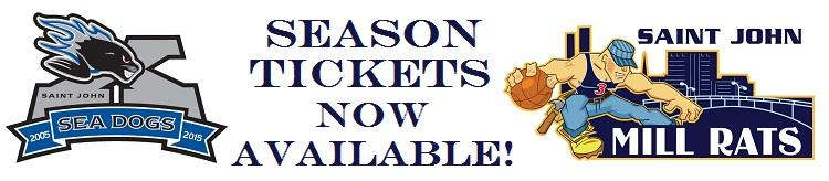 SEA DOGS SEASON TICKETS